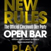 3.29.14 (Cincinnati, OH) – New Rules Day Party at Club PLAY