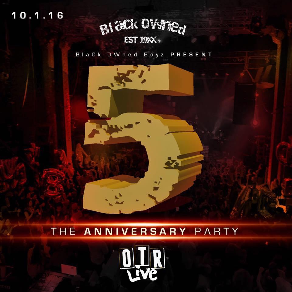 10.1.16 - Black Owned Anniversary Party (Cincinnati, OH)
