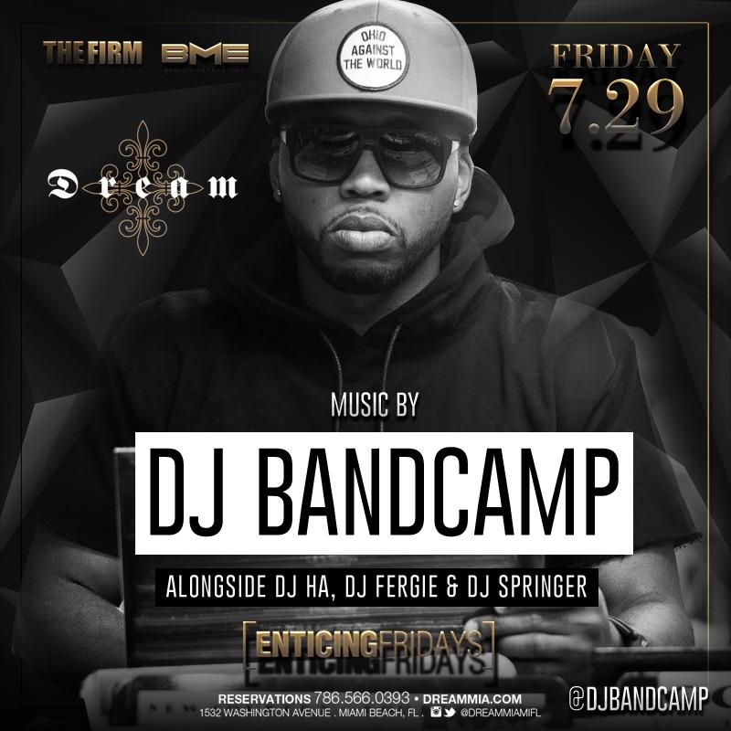 DJ Bandcamp Miami (7.29.16)
