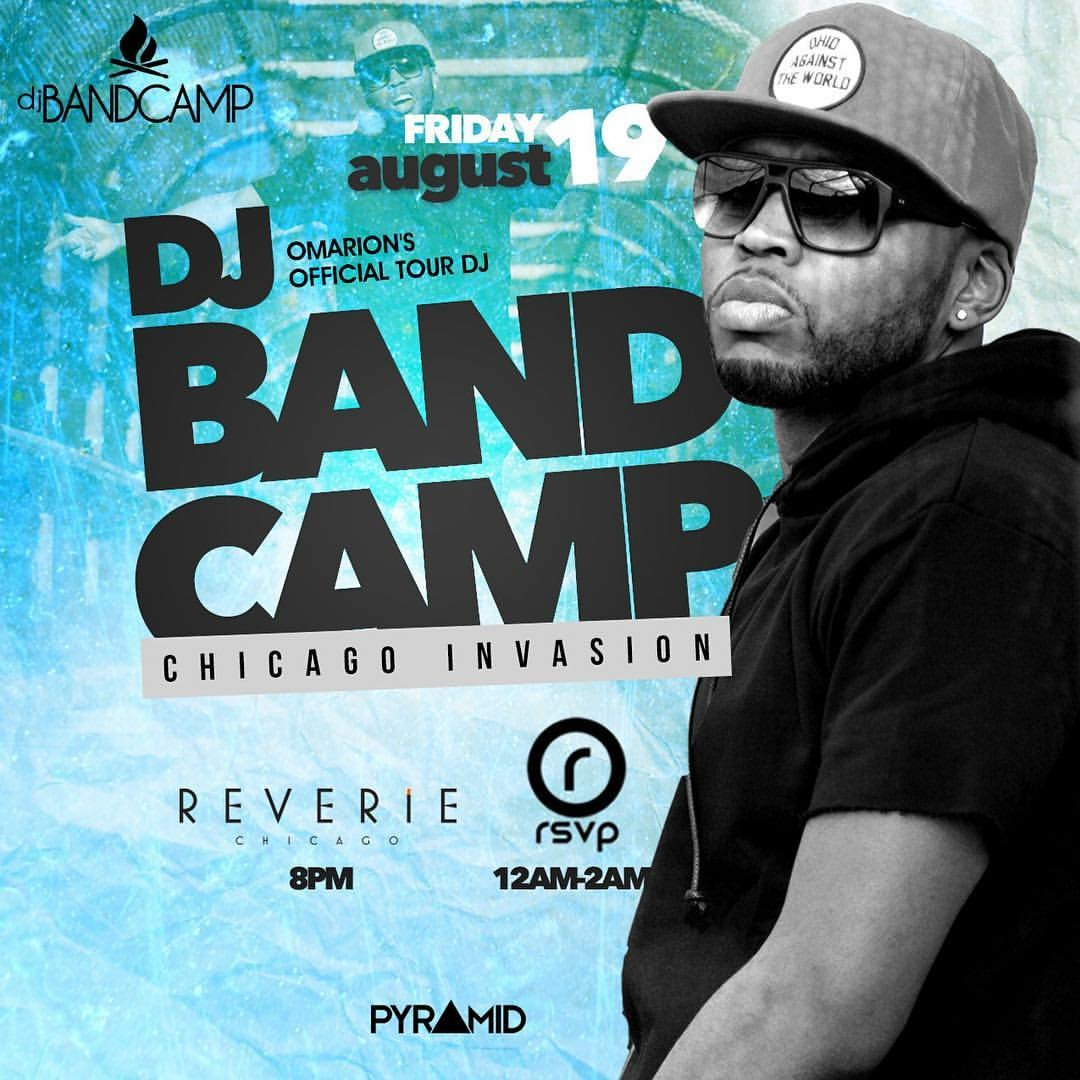 DJ Bandcamp Takes Chicago (8.19.16)