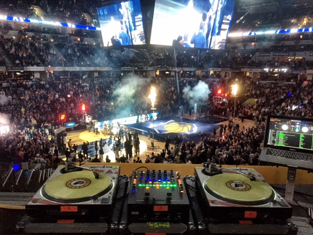 Indiana Pacers Opening 2015-2016 (10.29.15)