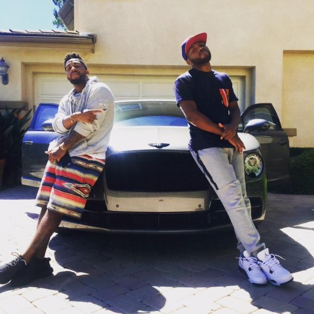 Omarion and DJ Bancdamp Bentley (9.19.15)