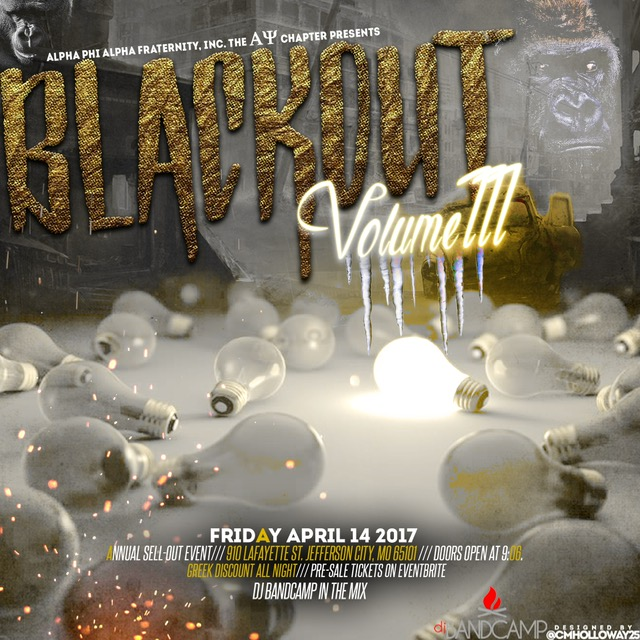 4.14.17 - The Black Out at Lincoln University (Jefferson City, MO)