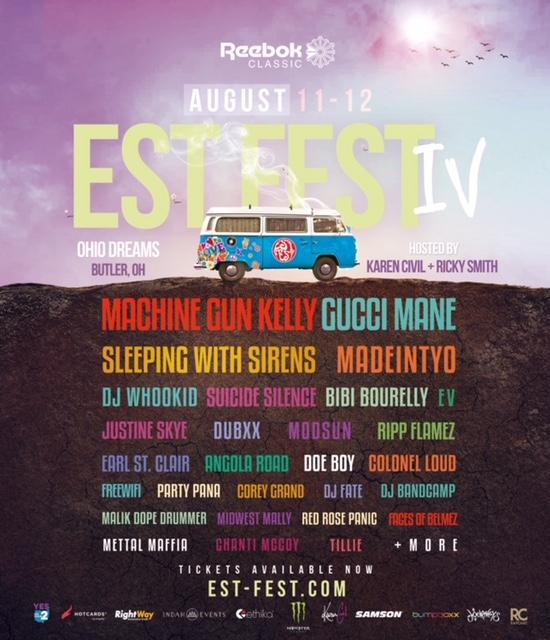 EST Fest IV - Flyer